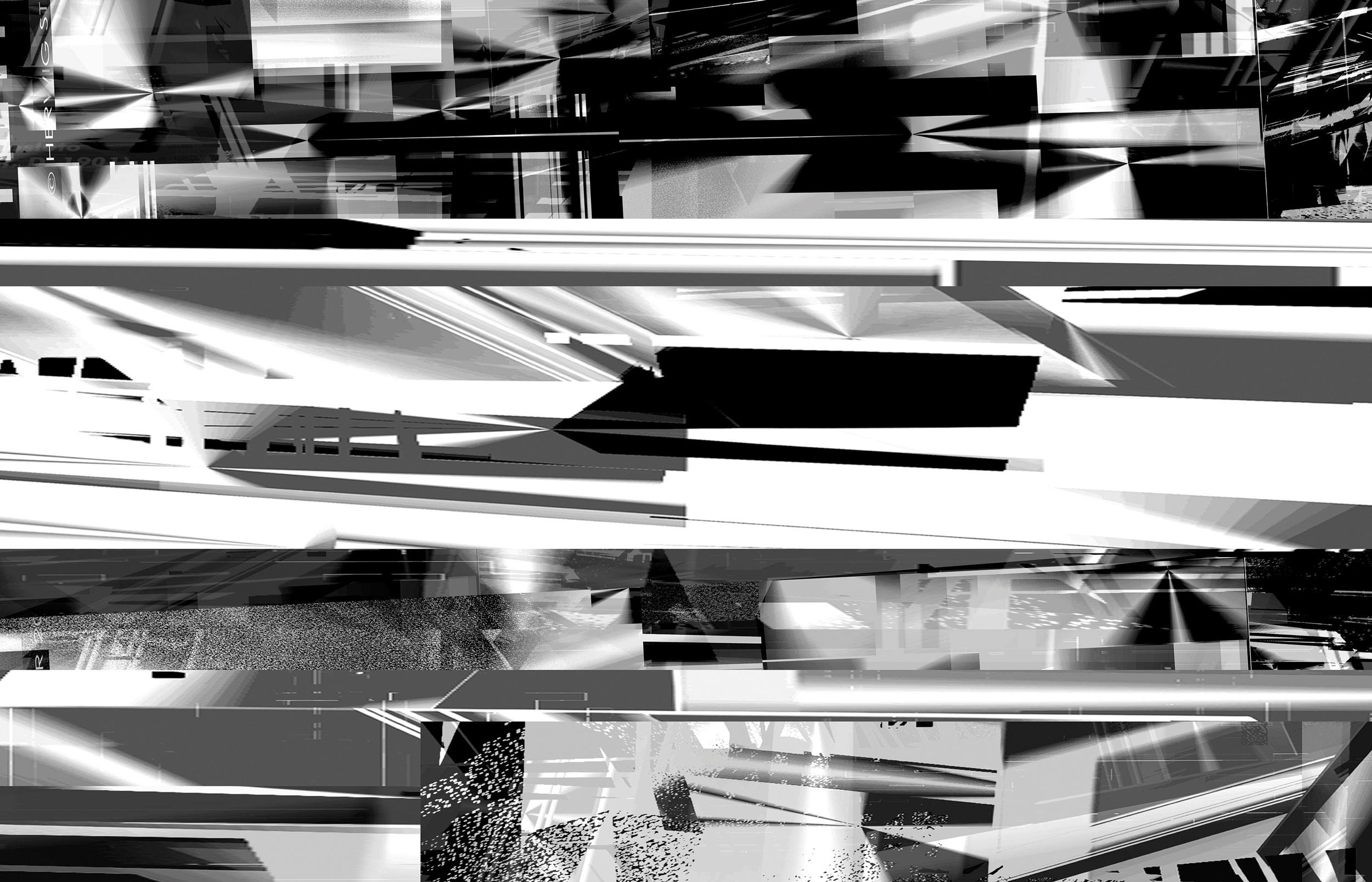 Herwig Steiner(1956L), Architektur, sp99, computergenerierte Zeichnung, 2013